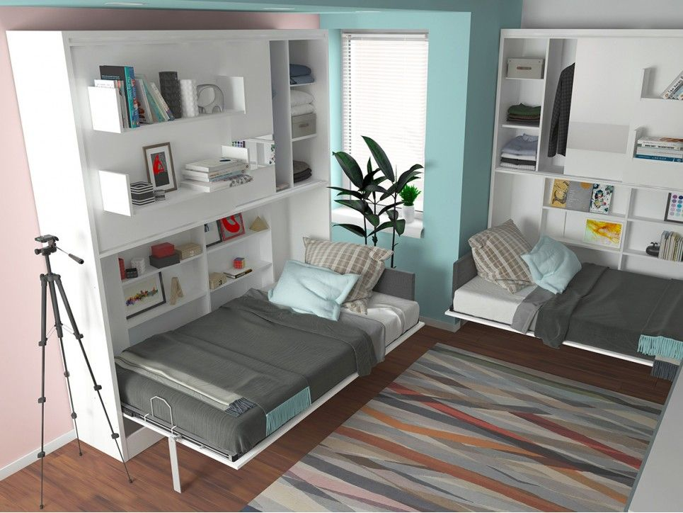 Parete Letto Twin Wall Bed System Twin wall bed