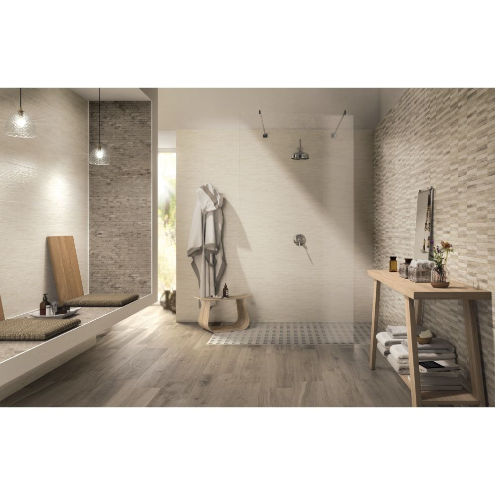 Fabulous carrelage mural salle de bain x yute collection for Carrelage mural brico depot