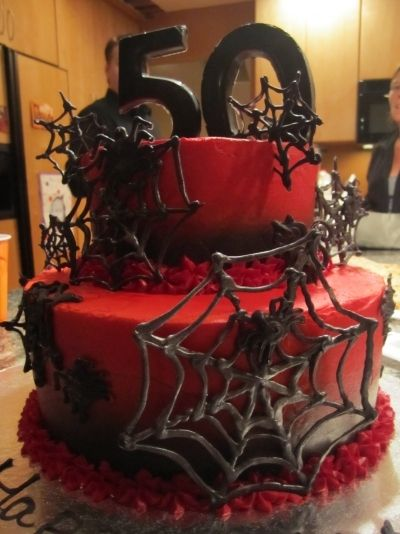 halloween birthday cake by michel nicol on cakecentralcom