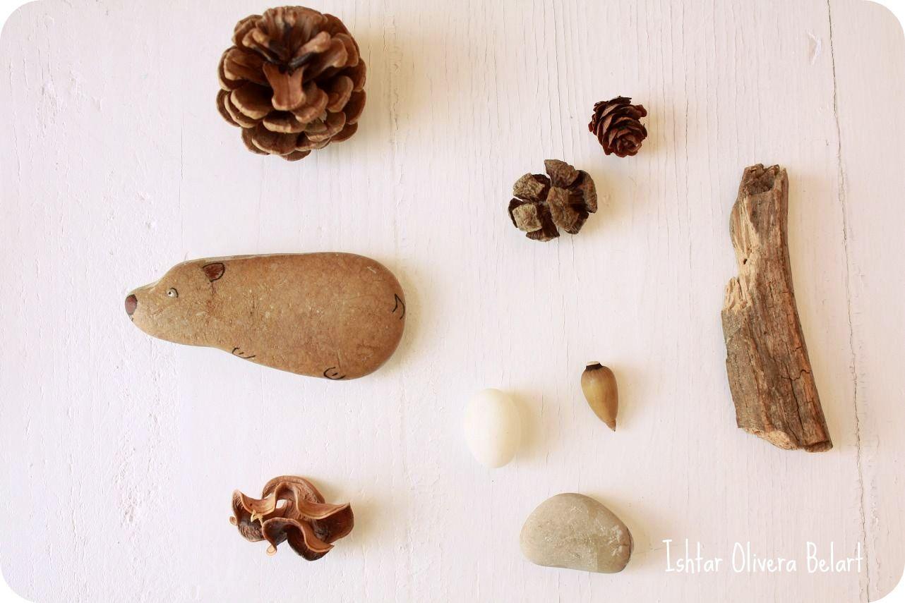 Steine lieb anmalen.