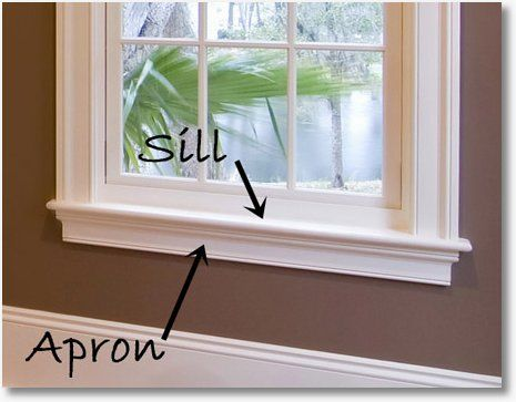 How To Add Some Wow With Woodwork Window Casing Window Sill