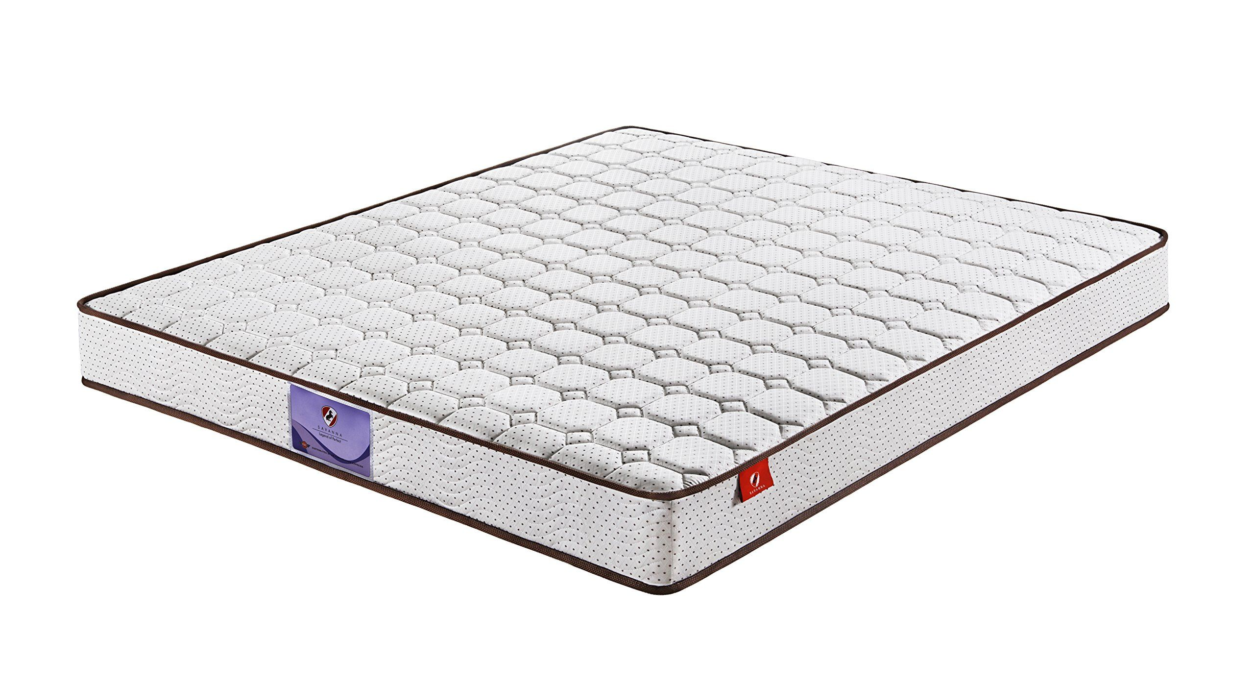 savanna 8 inch independently encased coil spring mattress with