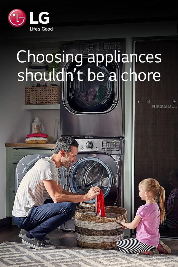 Shop LG laundry appliances with confidence and make it