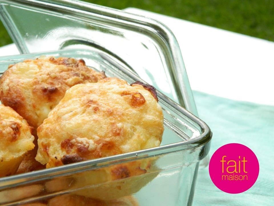 Muffins de queso - Fait Maison // facebook.com/FaitMaisonOlivos