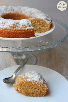 Gâteau coco moelleux et gourmand! Recette 100% végétale - La Fée Stéphanie