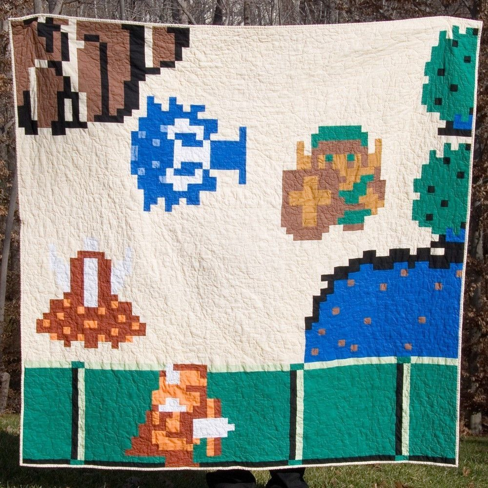 Carolina Patchworks - Videogame Series: The Hero & The Brother Quilt Pattern $12