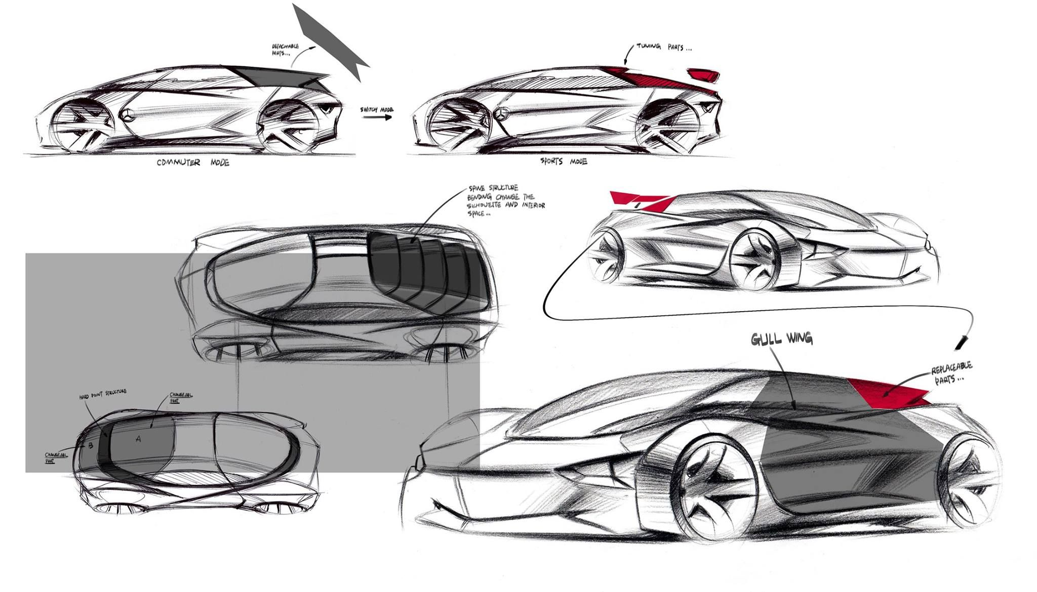 Pin by Jingmin Li on Car Rendering | Pinterest | Sketches and ...
