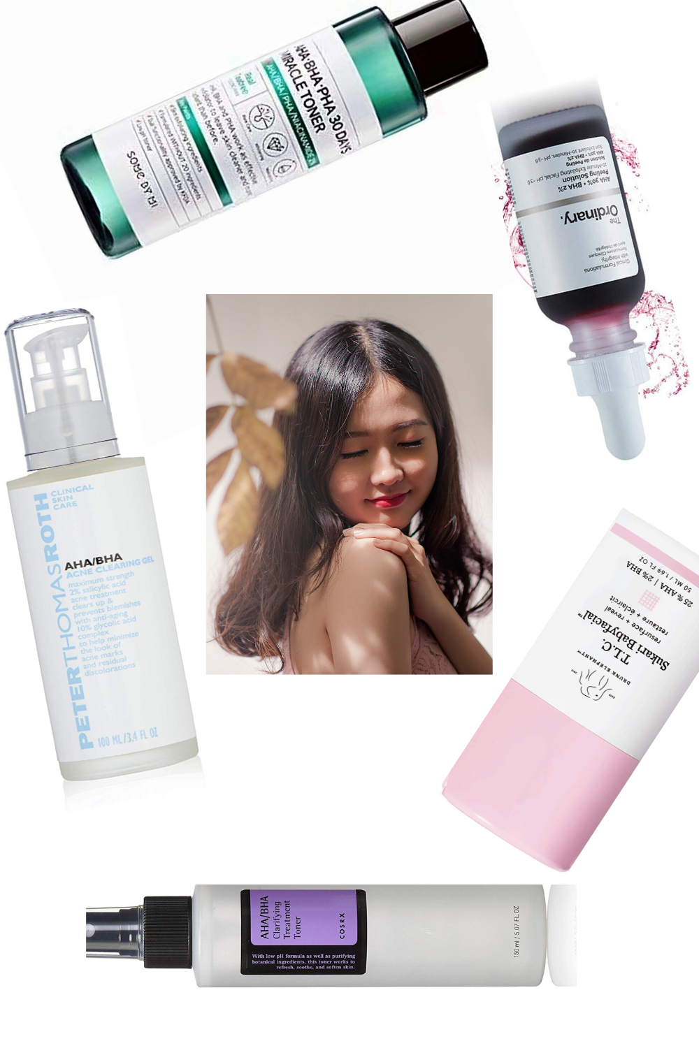 Products With Aha And Bha Both In 2020 Face Serum Skin Care Skin Care Routine