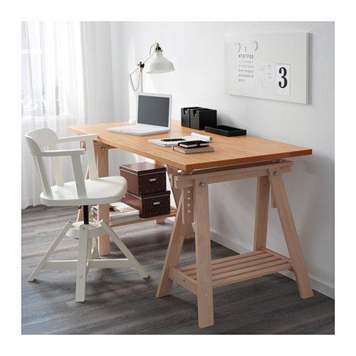 Gerton Finnvard Table Beech 155 X 75 Cm Magic Workspace