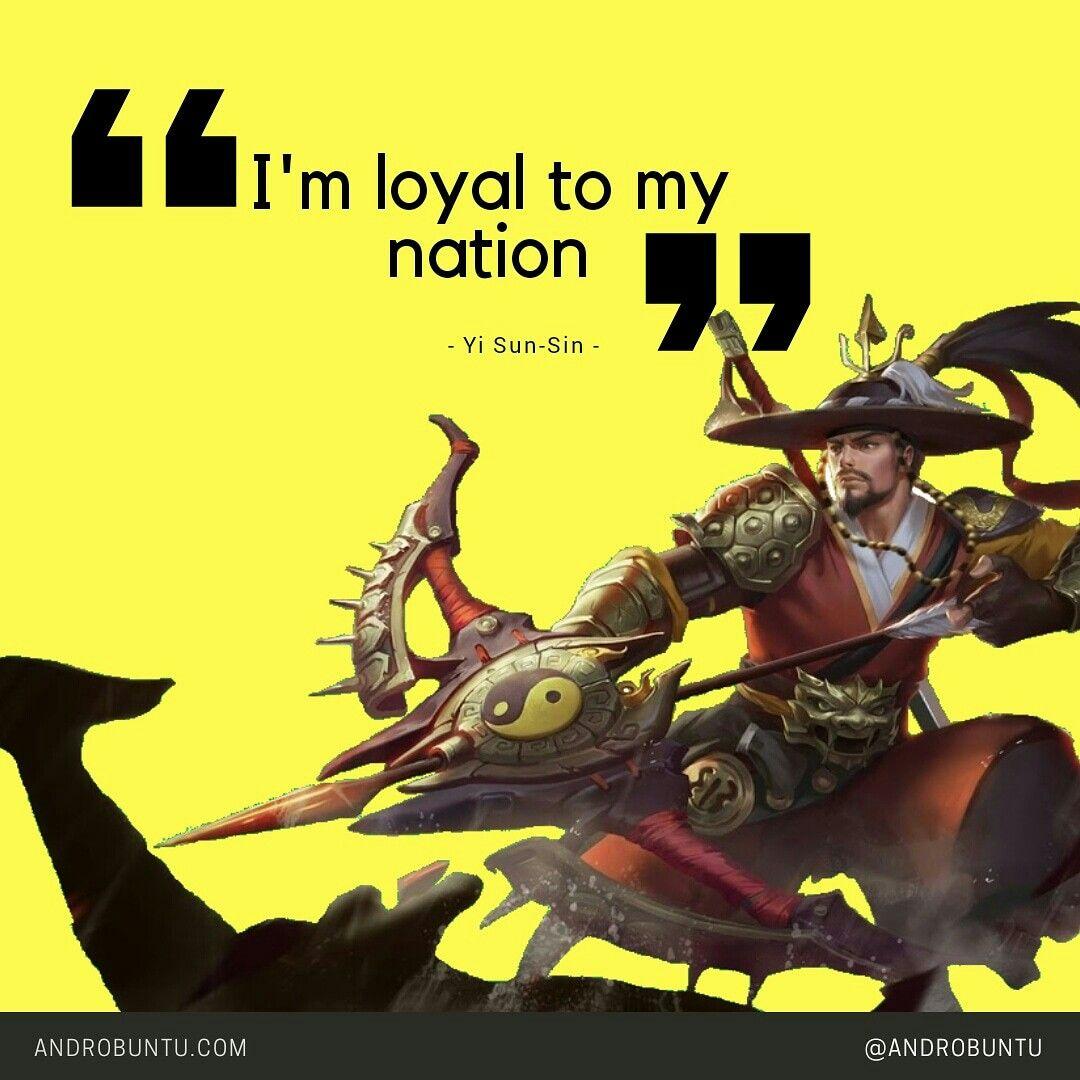 Kata Kata Dari Yi Sun Sin Mobile Legends Baca Selengkapnya Di