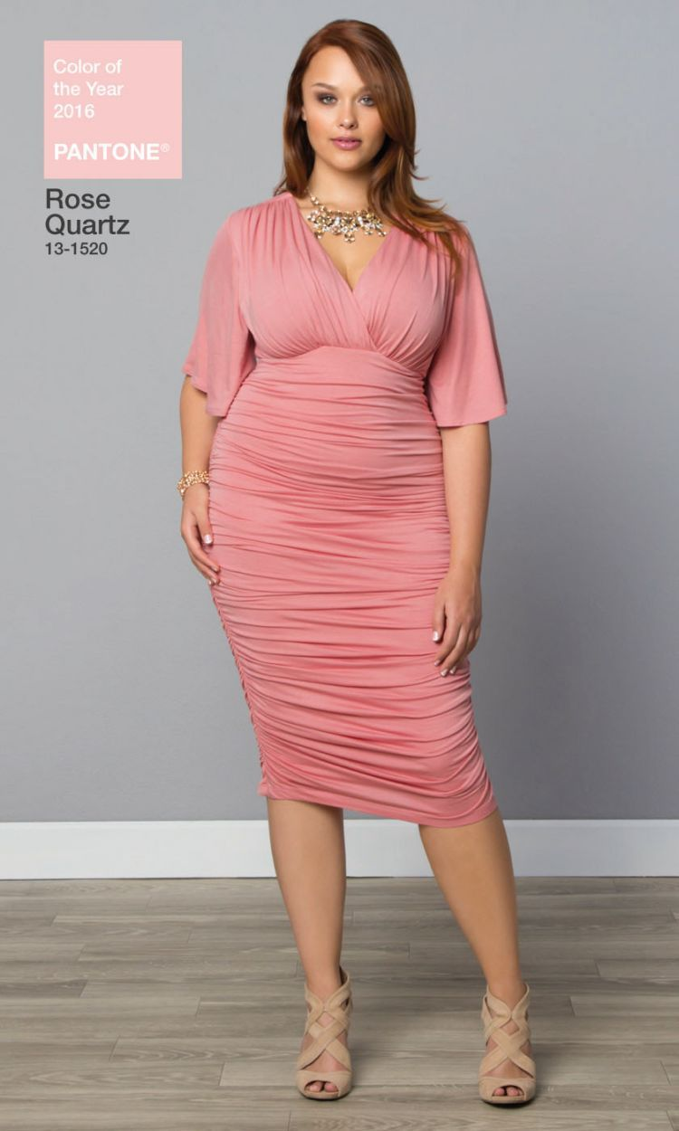 Plus Size Ruched Dress | Makeup/Style | Pinterest | Vestido para ...