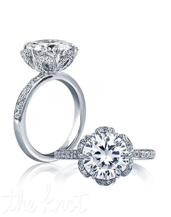 A Jaffe Flower Ring