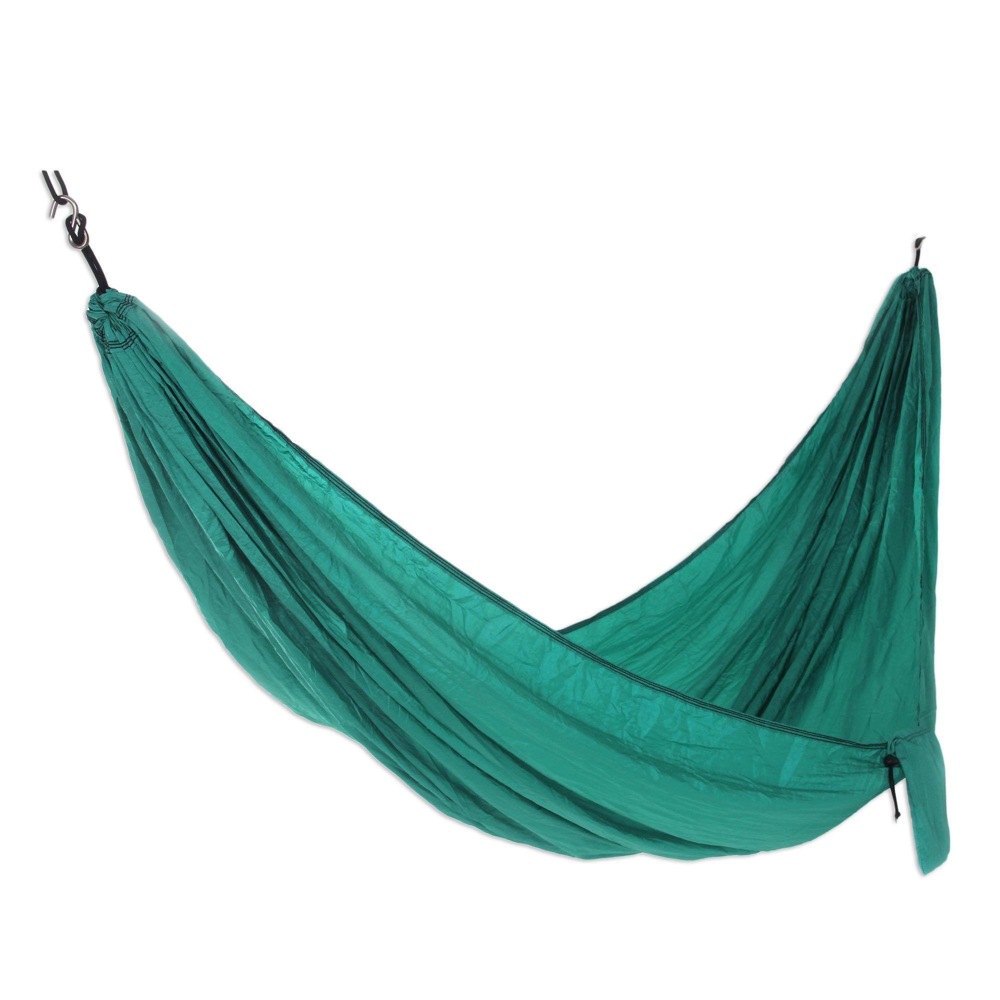 Novica single parachute hammock uuluwatu jadeu products