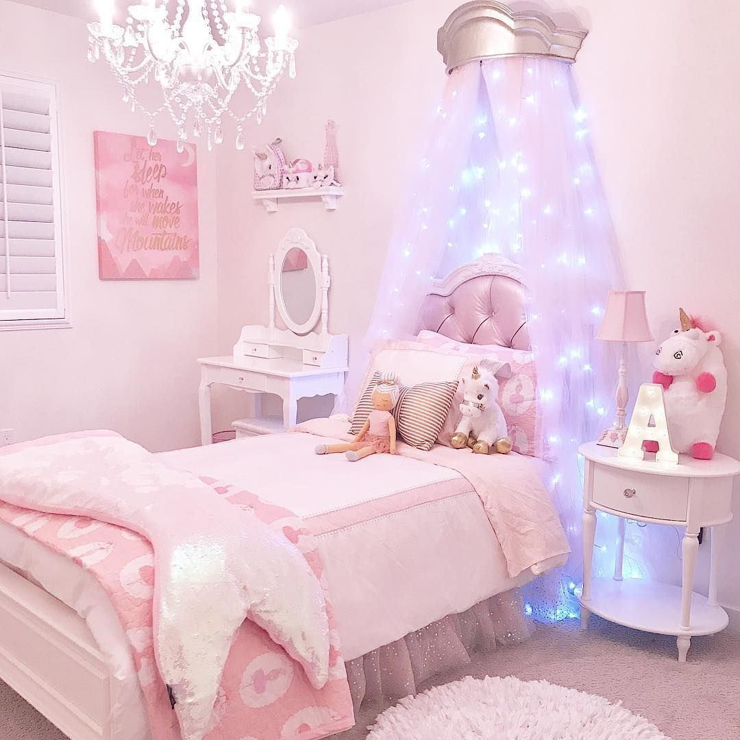 Princess Bedroom Inspiration Girly Bedroom Kids Bedroom Decor Girl Bedroom Decor