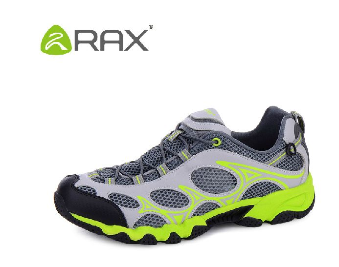 Rax Breathable Hiking Trekking Shoes For Men Outdoor Sport Walking Fishing Shoes Mesh Climbing Mountaineering Shoes
