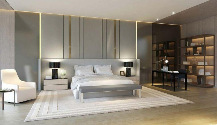Habitaciones de matrimonio decorando tu oasis de for Estantes dormitorio matrimonio