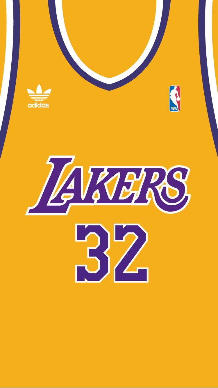 Earvin Magic Johnson iPhone 6 Lakers basketball
