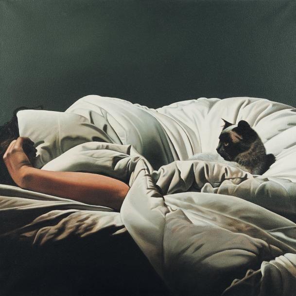 painting hyperrealist Artodyssey: Gérard Schlosser