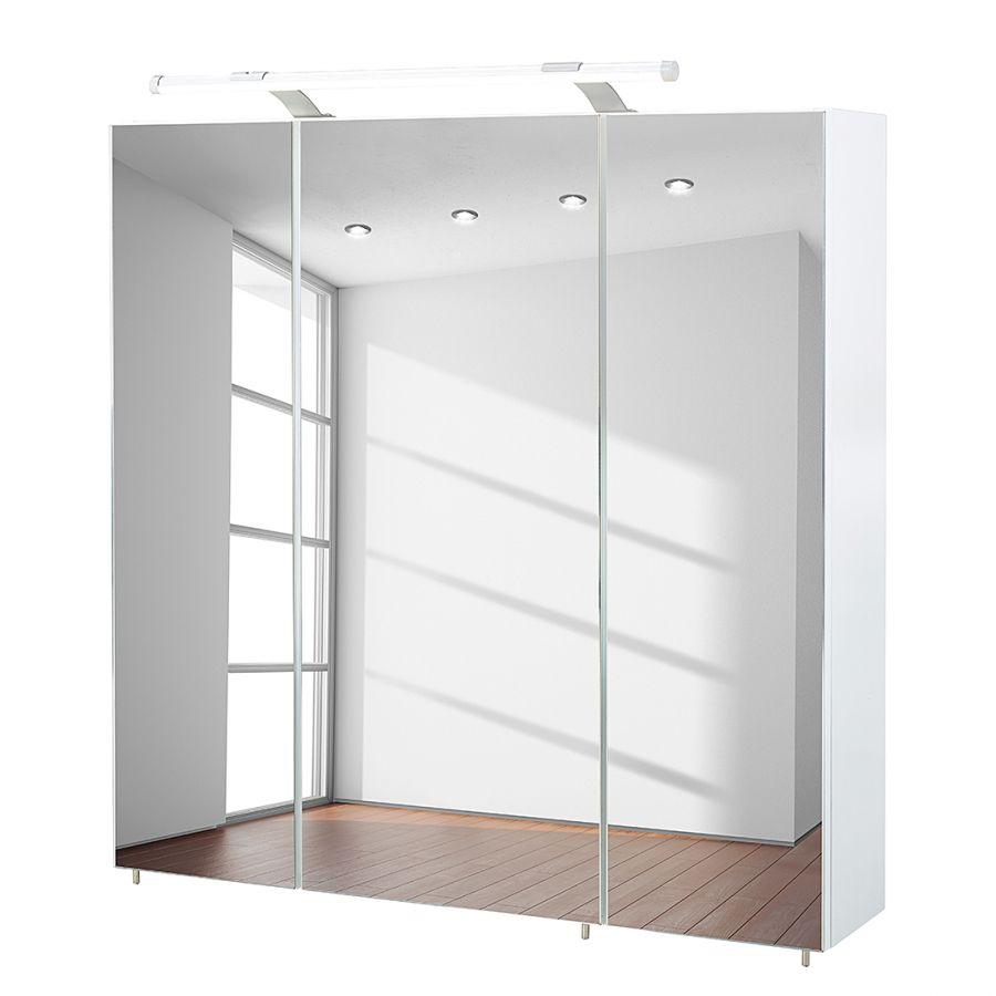 Armoire avec miroir dusty i appart armoire armoire avec miroir et armoire rangement - Porte coulissante toilette ...