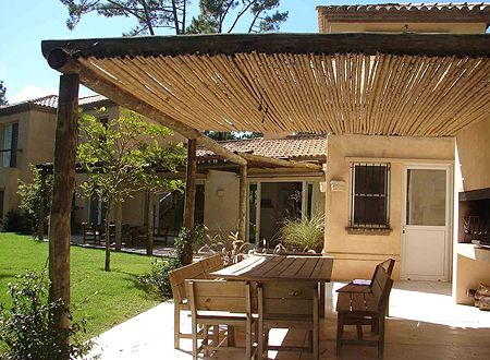 Ideas Sencillas para Decorar Pérgolas de Madera Terrazas - terrazas en madera