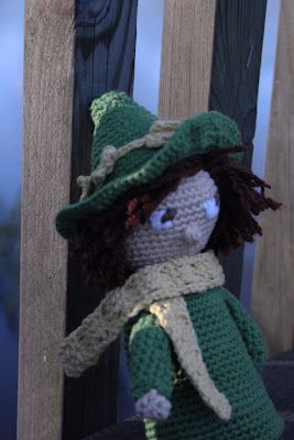 Mumin, virkad snusmumriken    http://lenanordin.blogspot.se/