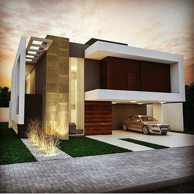 Arquitetura Integrando Pisos: Casa Por Farinazzo Arquitetura. Fachada Com Arquitetura