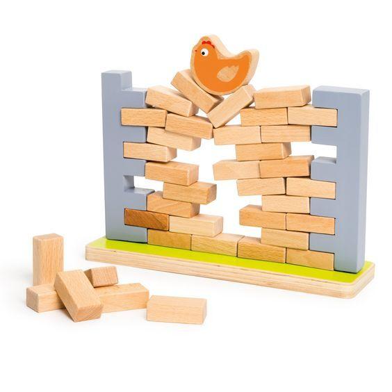 Pour jouer au jeu Une poule sur un mur, l\u0027enfant commence par