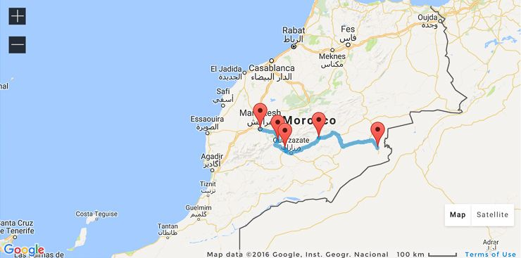 One week in Morocco 3 perfect itineraries Morocco Deserts and