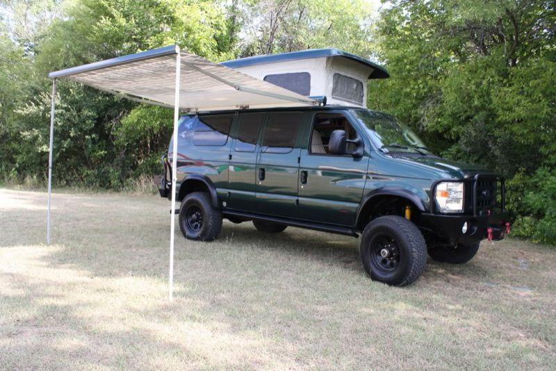 4x4 Ford E350 Diesel Off Road Camper Sportsmobile