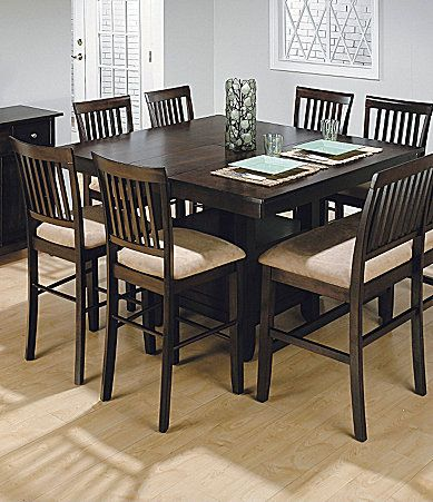 Room Jofran Bakers Cherry 6Piece CounterHeight Dining Set Dillards