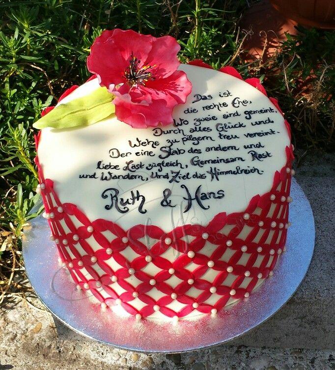 Hochzeitstag torte