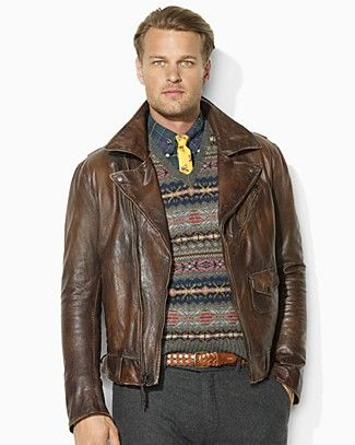f7a74263cf07a1 Polo Ralph Lauren Sierra Leather Jacket | My Style in 2019 | Ralph ...