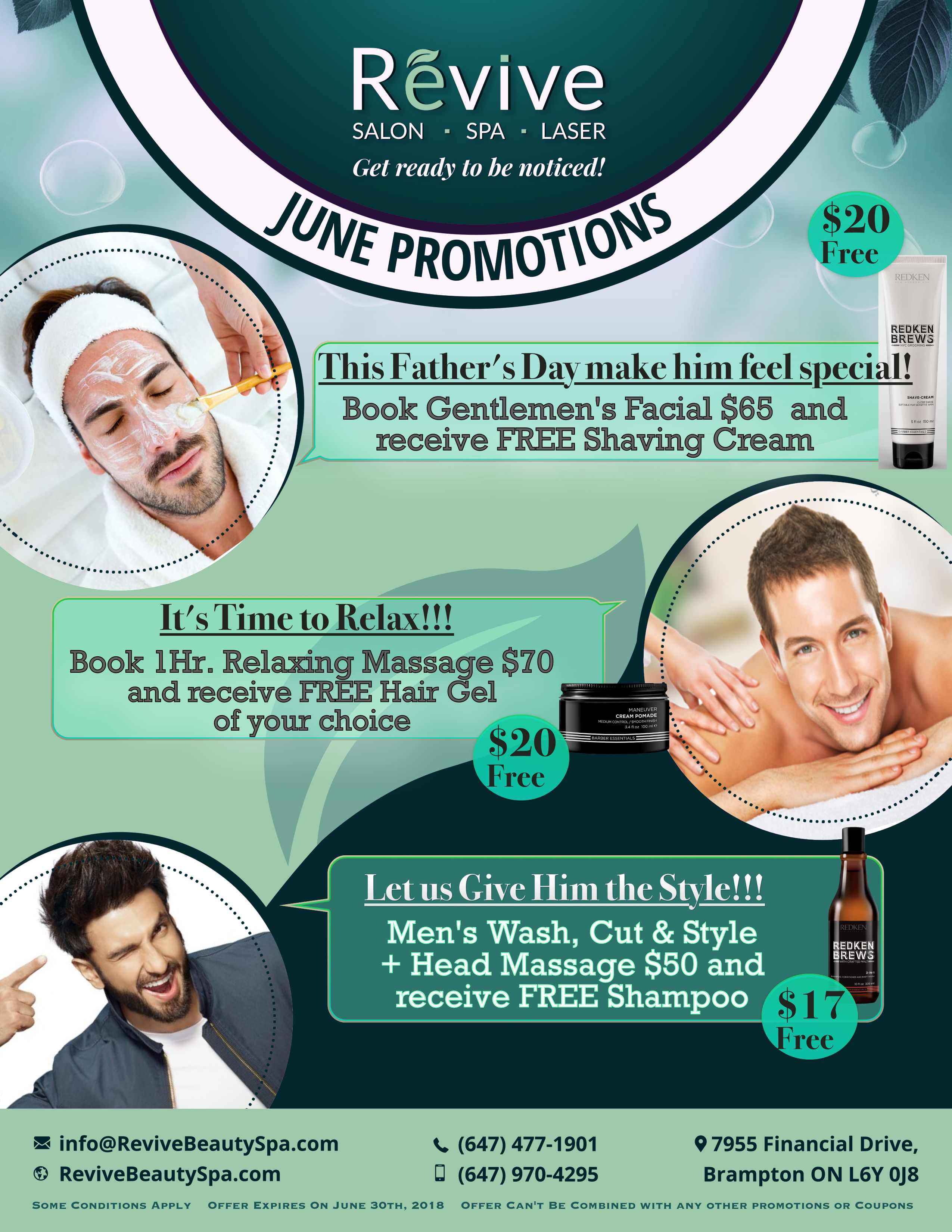 Revive June Promotion Revive June Promotion - Revive Beauty