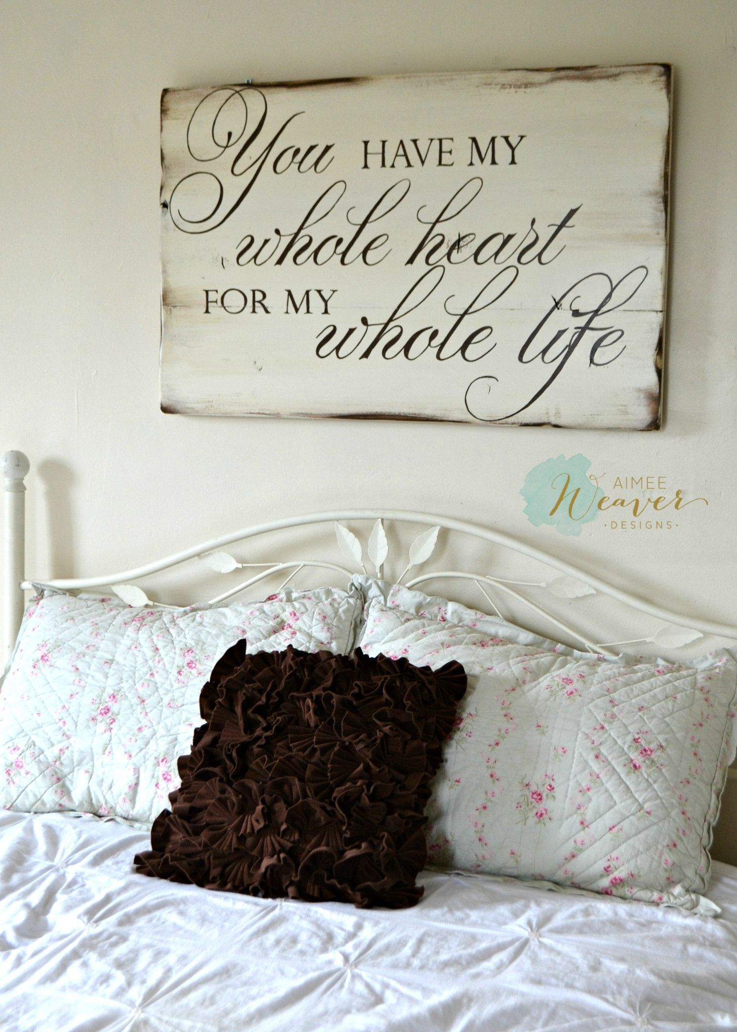 wood signs to add rustic glam to your decor romantic walls and