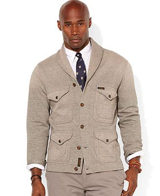 ef98f5d940820 Polo Ralph Lauren Big and Tall Pocket Cardigan - Sweaters - Men - Macy's