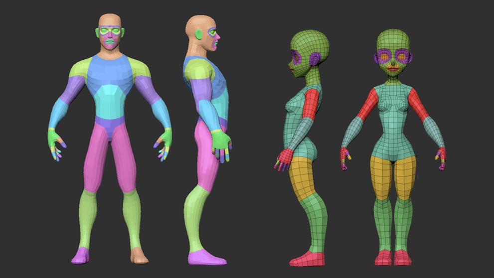 Pin On Characters Humanoid