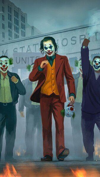 Joker 2019 Protest Joaquin Phoenix 4k Hd Mobile Smartphone And Pc Desktop Laptop Wallpaper 3840x2160 Joker Wallpapers Batman Joker Wallpaper Joker Artwork