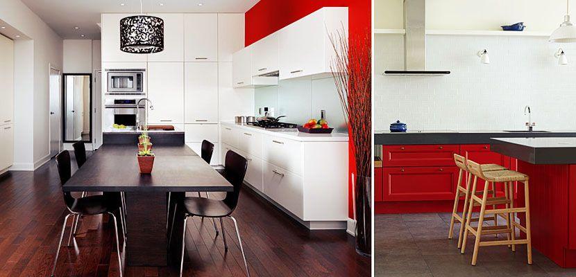 Te atreves con el rojo en tu cocina? El rojo, Rojo y Cocina roja
