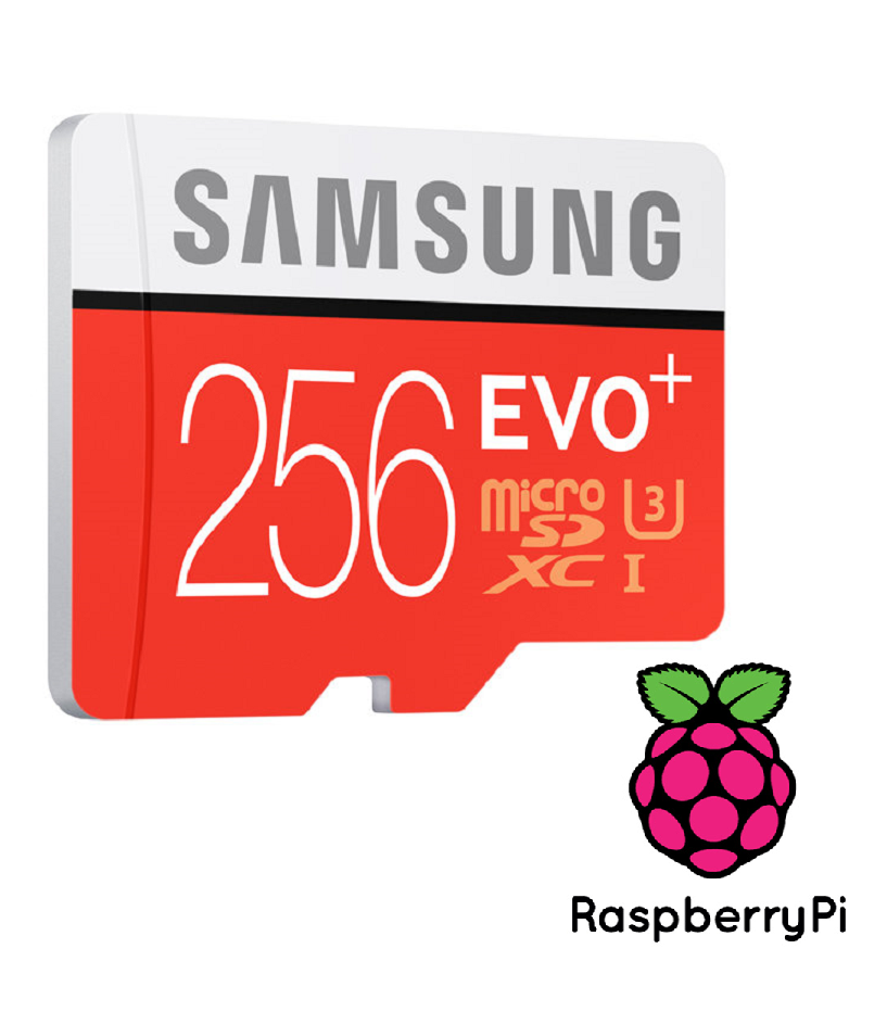 HyperPie +75 Systems 256GB Micro SD RaspberryPi | Geek Stuff