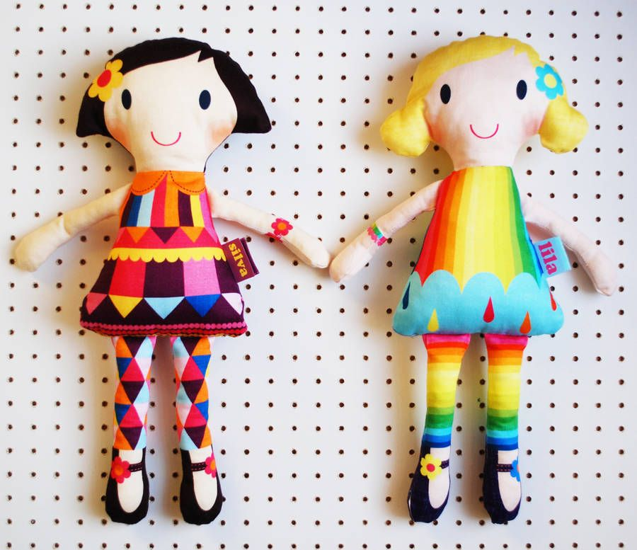Personalised Make Your Own Mini Doll Kit