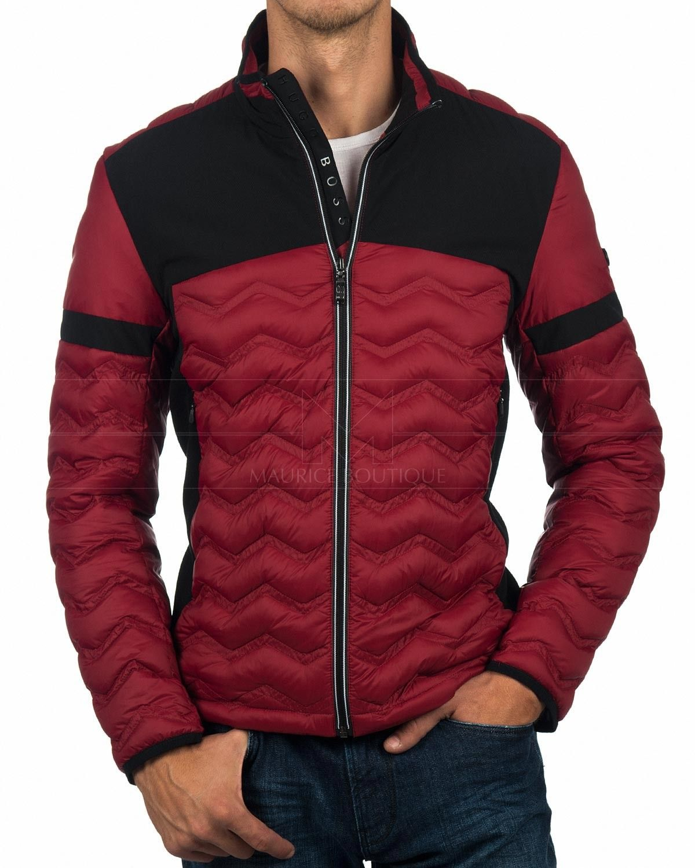 Hugo Boss C Jacket Jei Dark Red Best Price Hugo Boss Jackets Mens Outfits [ 1500 x 1200 Pixel ]