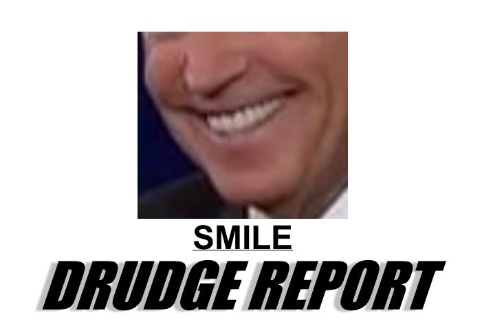 Drudge Is Slamming Joe Biden For Laughing And Smiling During The Debate Snoring Laugh Chin