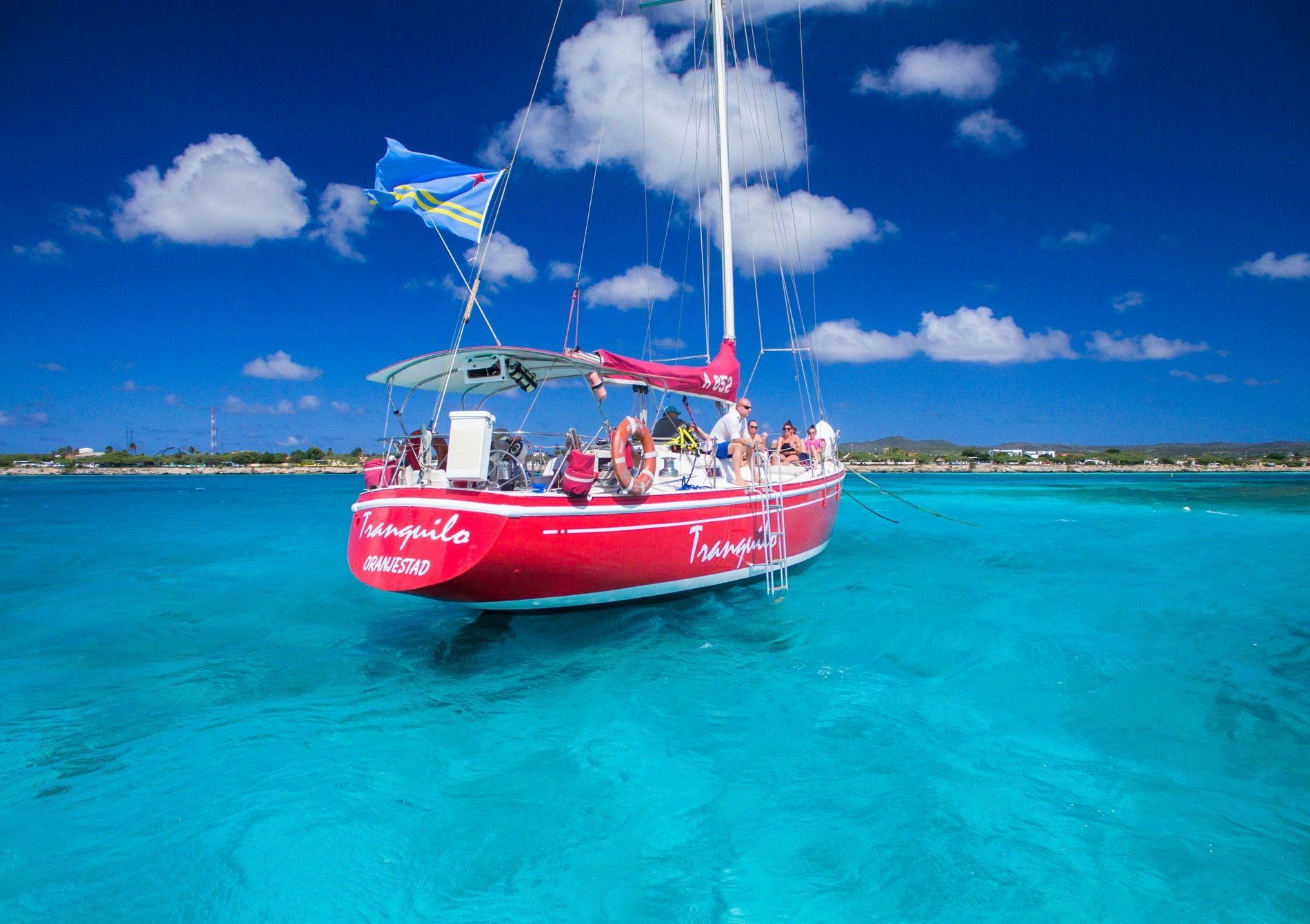 Aruba Sailing Tours And Charters The Tranquilo Aruba Better Snorkeling Spots Vs Black Pearl Visit Aruba Southern Caribbean Aruba