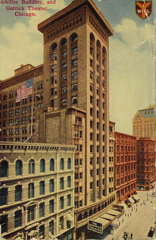 Louis sullivan schiller building 1891 chicago - Interior design schools in st louis mo ...