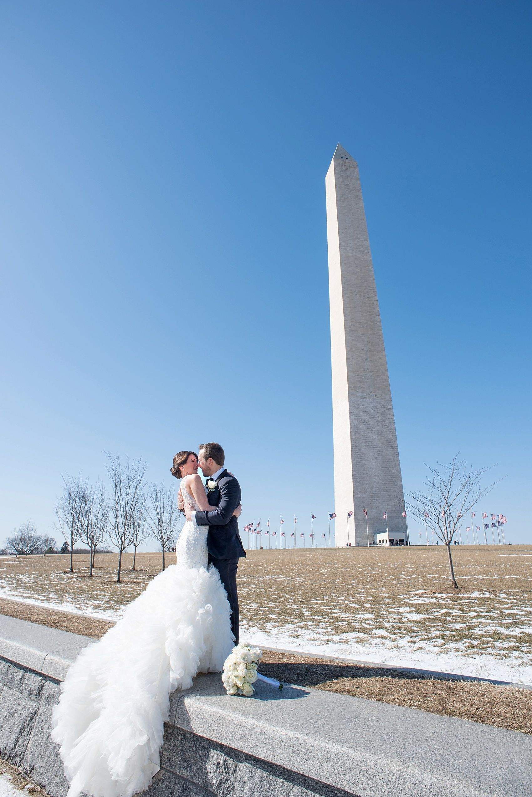 Washington, DC wedding photos by Mikkel Paige. So close to the ...
