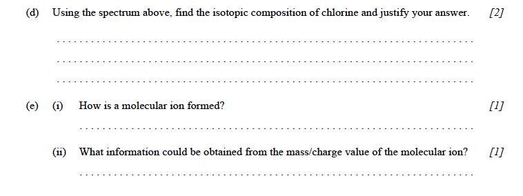 Perfect IB Chem, May 2001, HL, Paper 3