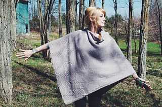 Yoga Shawl by Andrea Mowry (triangular, buttons on one side so you can wear it in many ways)