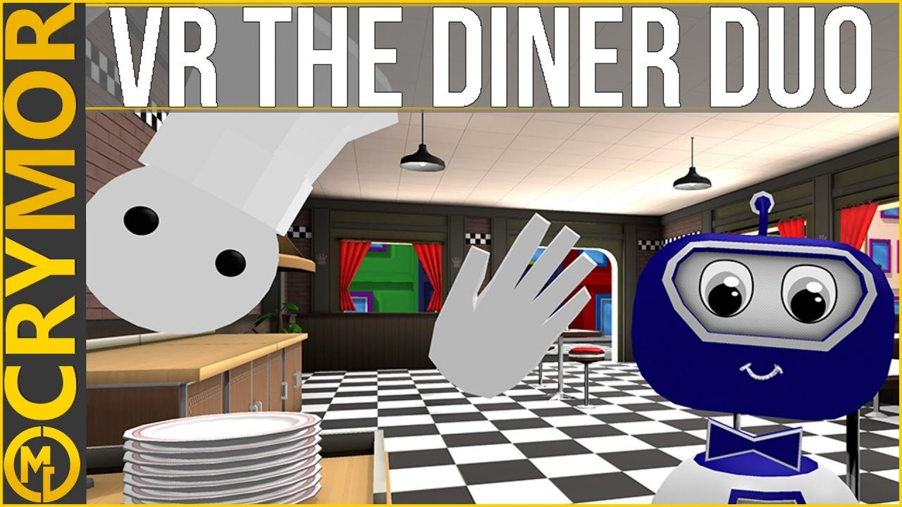 Best CoOp In VR? VR The Diner Duo (Out Tomorrow