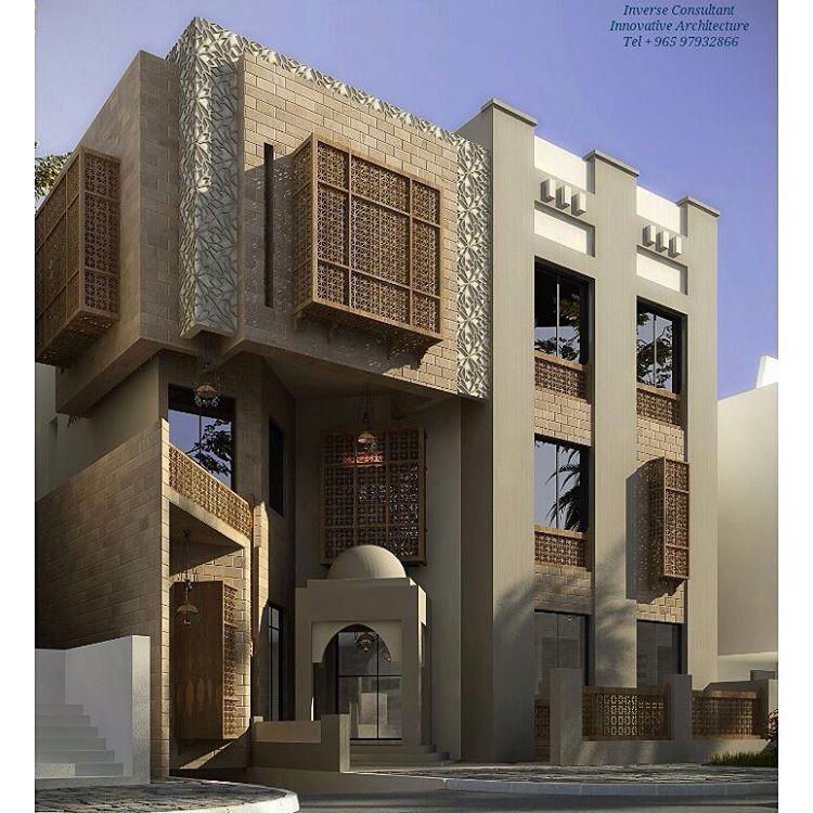 Extérieurs de la maison architecture islamique maure villas manoirs façades