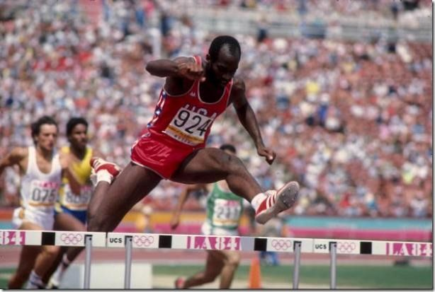 Edwin Moses - LA Olympics, 1984 | Olympic track and field ...